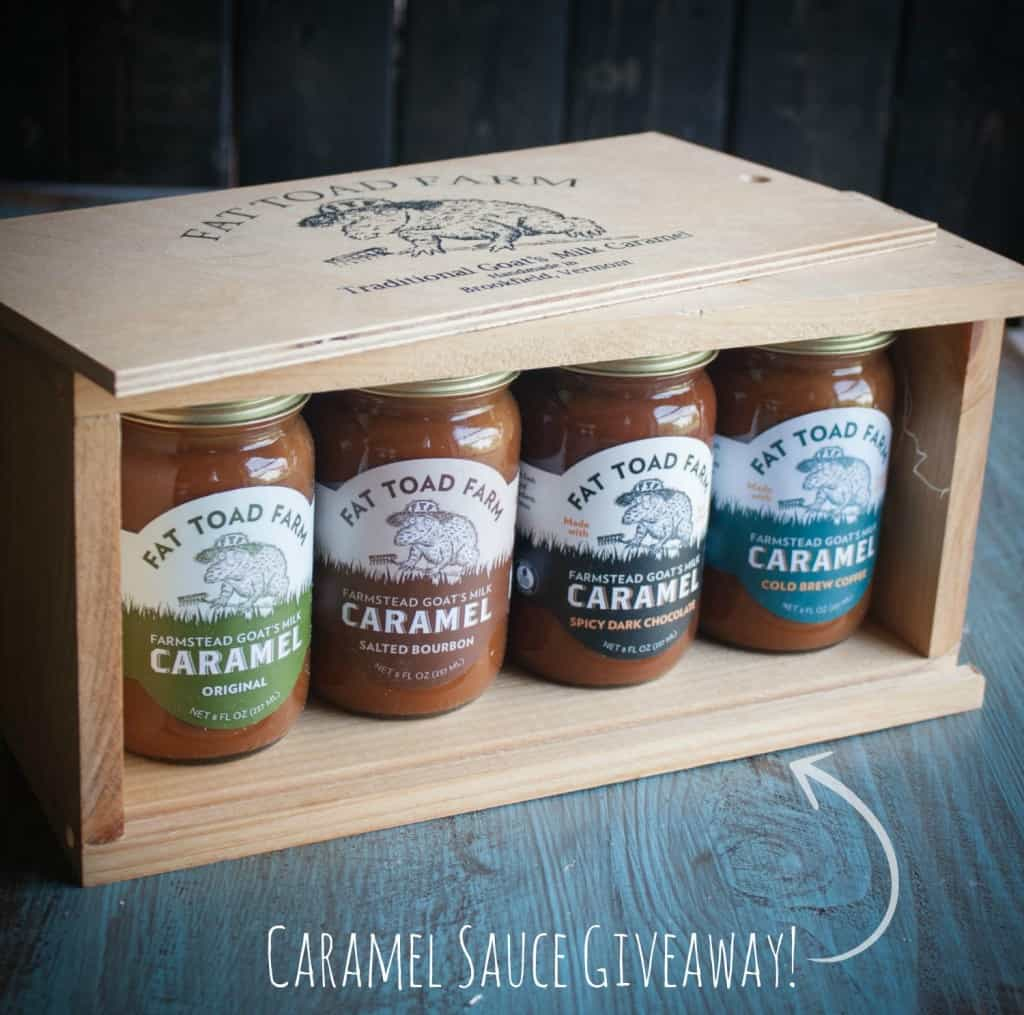 Fat Toad Farm-caramel-sauce-giveaway