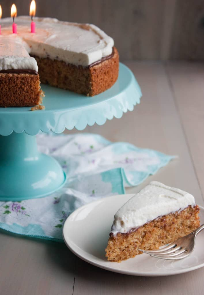 5-Ingredient-hazelnut-cake-with-chocolate-and-whipped-cream-frosting
