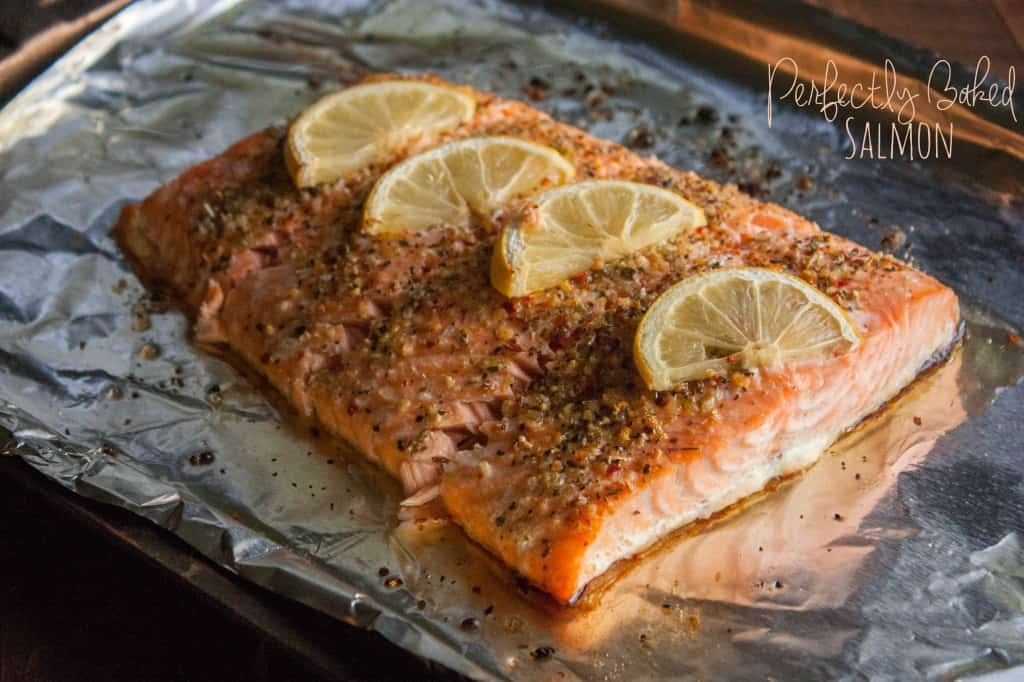 perfectly baked salmon sweetphi. Black Bedroom Furniture Sets. Home Design Ideas