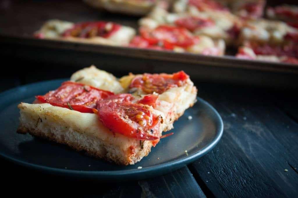 Tomato-focaccia-bread