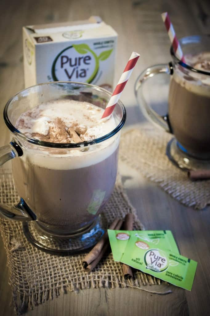 Cinnamon-hot-chocolate-with-pure-via-sweetener