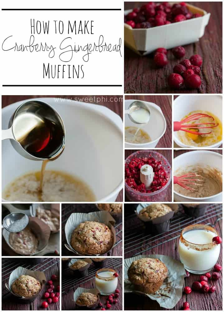 How-to-make-cranberry-gingerbread-muffins