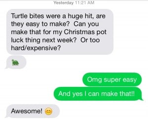text-message-about-chocolate-turtles