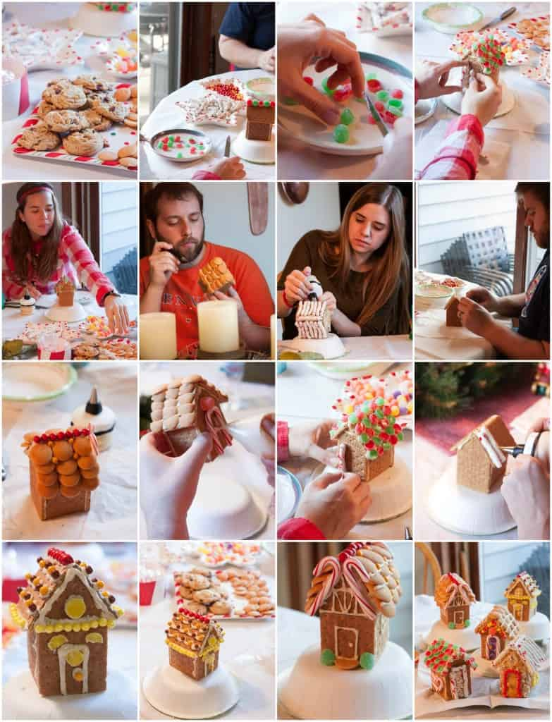Making-mini-gingerbread-houses