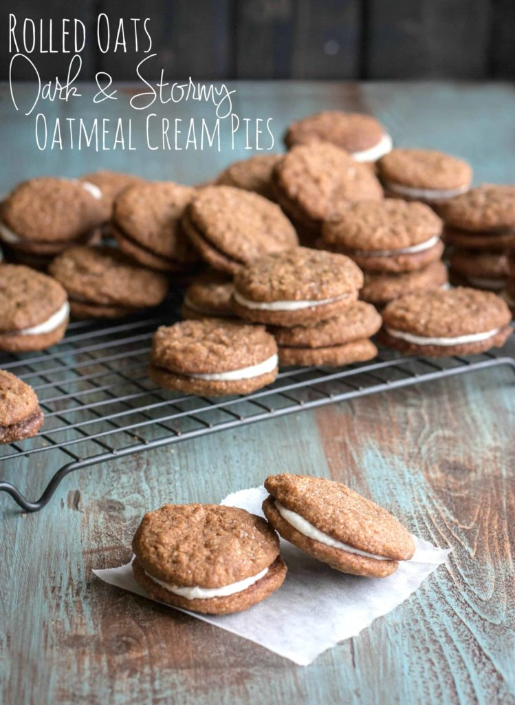Rolled-oats-chewy-dark-and-stormy-oatmeal-pies