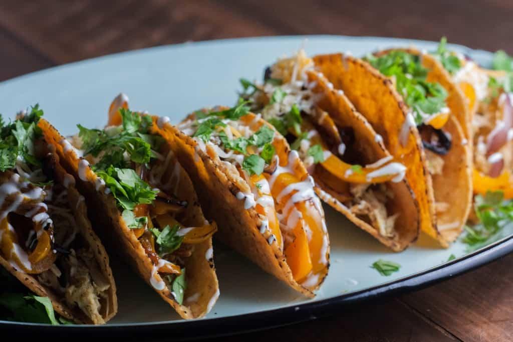 Tomatillo-sauce-chicken-tacos