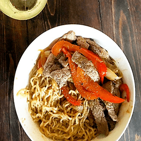 Reader Recreation Beef Pepper Ramen