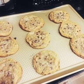 Reader recreation salted caramel cookies