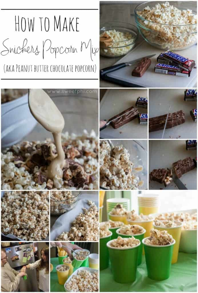 How-to-make-snickers-popcorn-mix-aka-peanut-butter-chocolate-popcorn