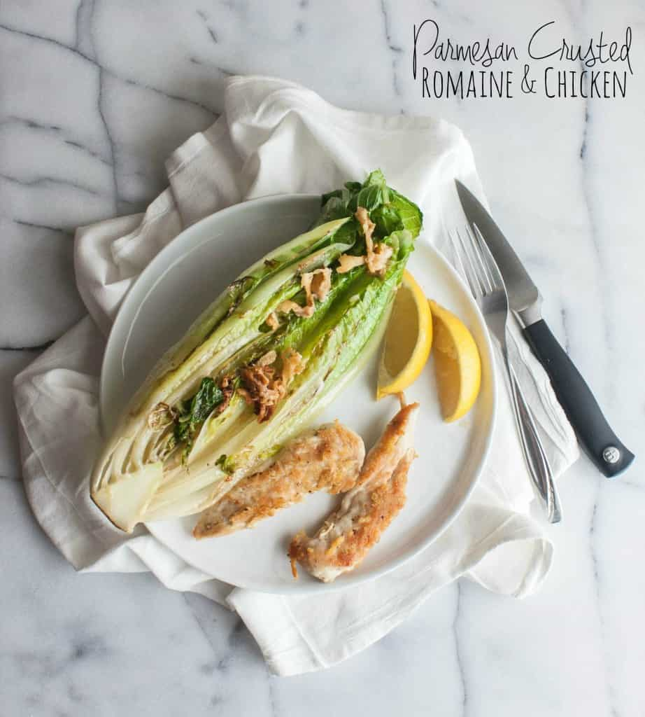 Parmesan-crusted-romaine-and-chicken-salad