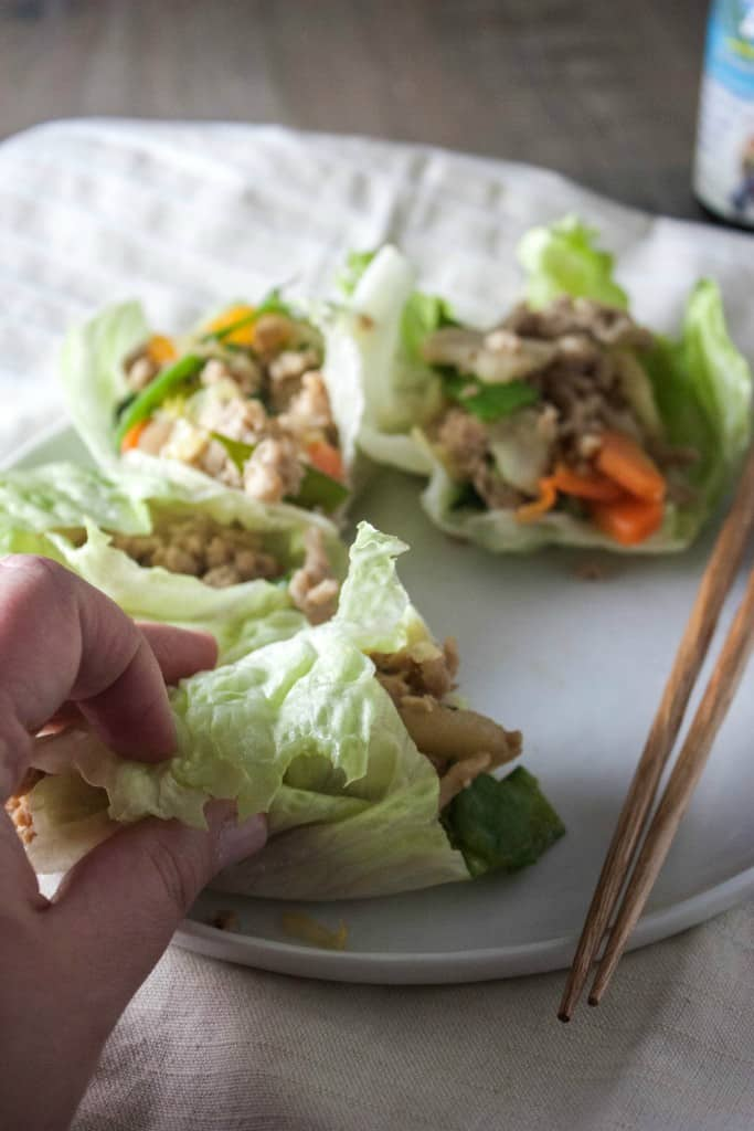 How-to-make-chicken-stir-fry-lettuce-wraps