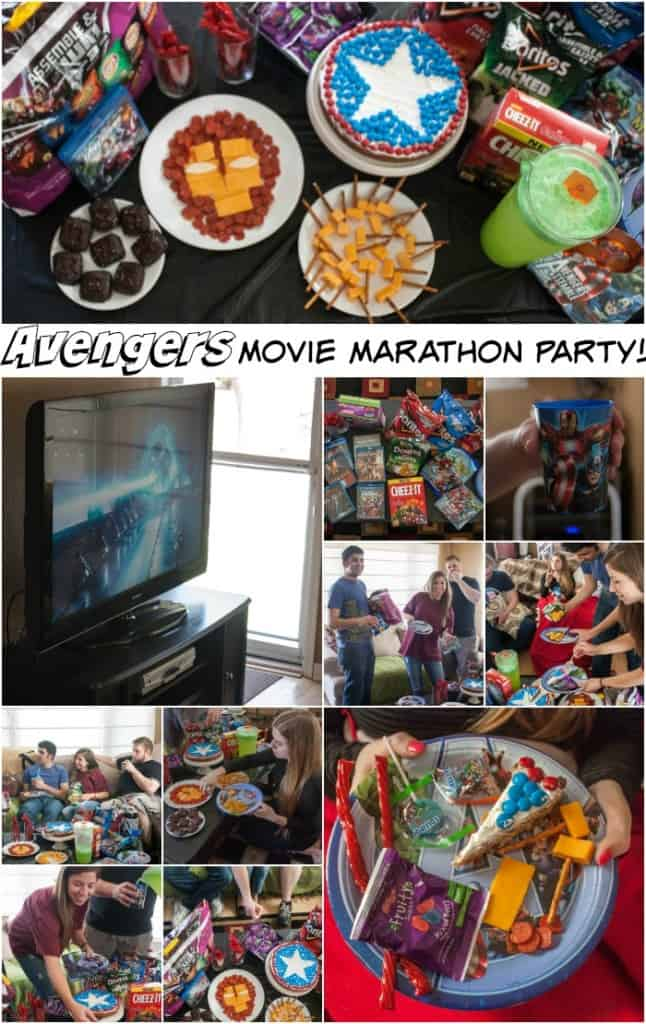 Avengers movie marathon party