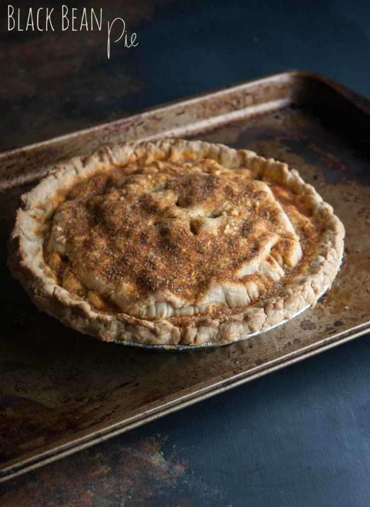 Black bean pie from SweetPhi
