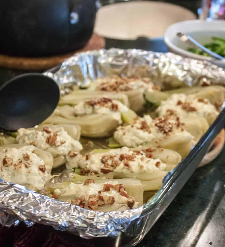 Fennel-stuffed-with-gorgonzola