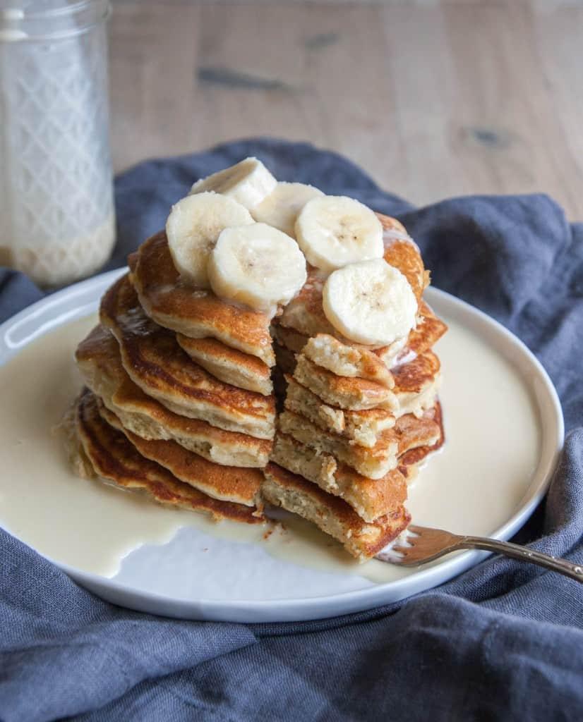 Tres-leches-banana-pancakes