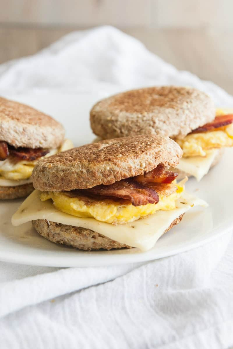5 ingredient breakfast sandwiches