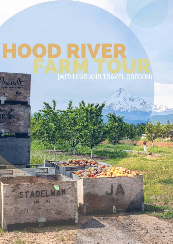 Hood River Farm Tour through the Hood River Valley Fruit Loop