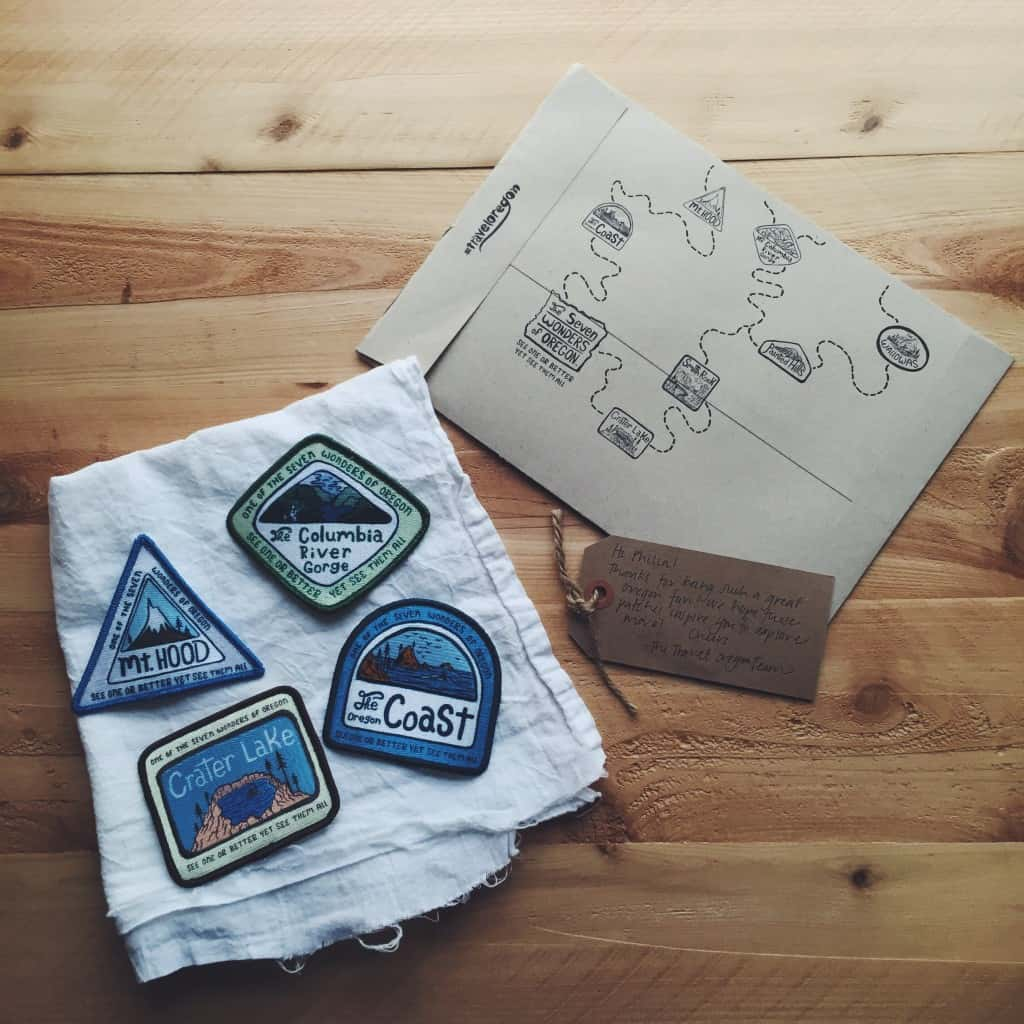 #traveloregon patches - Travel Oregon patches