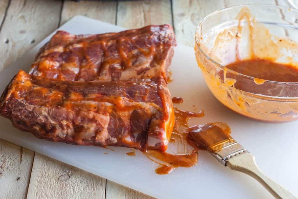 Ribs made in a slow cooker