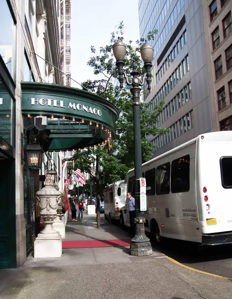Hotel Monoco in Portland