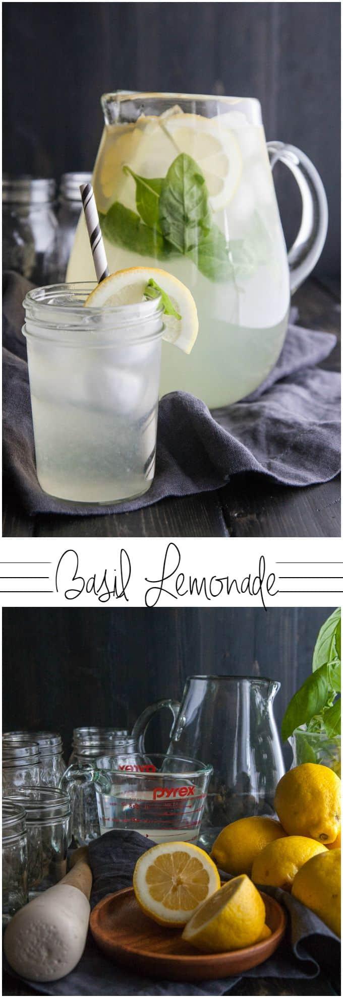 Basil lemonade from @sweetphi