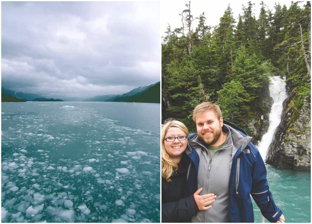Beautiful scenery from our honeymoon in Alaska from @sweetphi