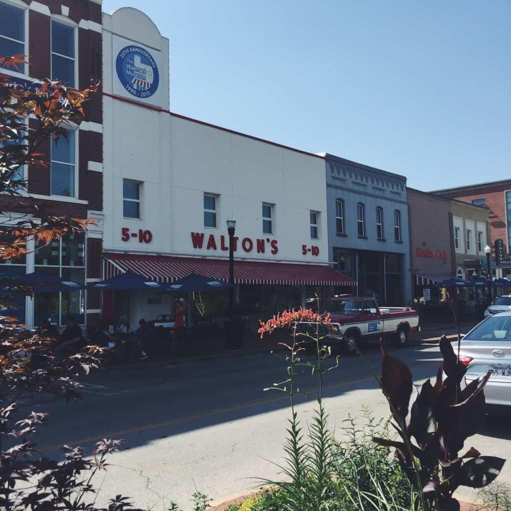 Walton's museum in Bentonville AK
