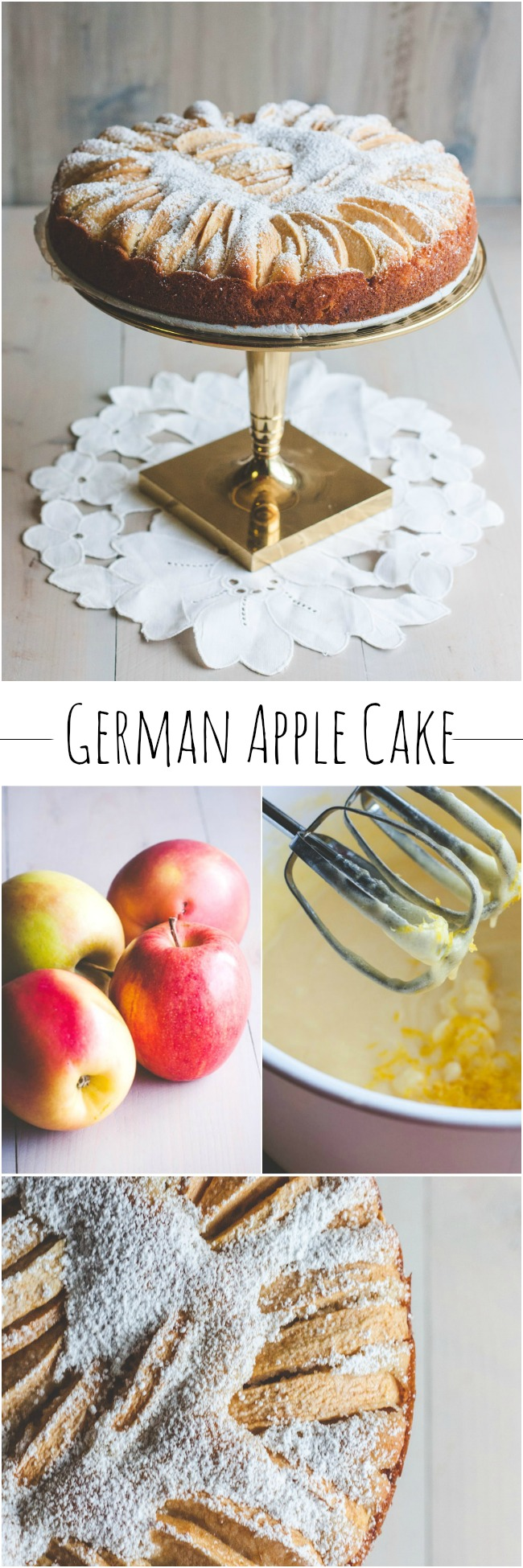 German Apple Cake from @sweetphi perfect for a fall dessert and when you are looking for an apple recipe