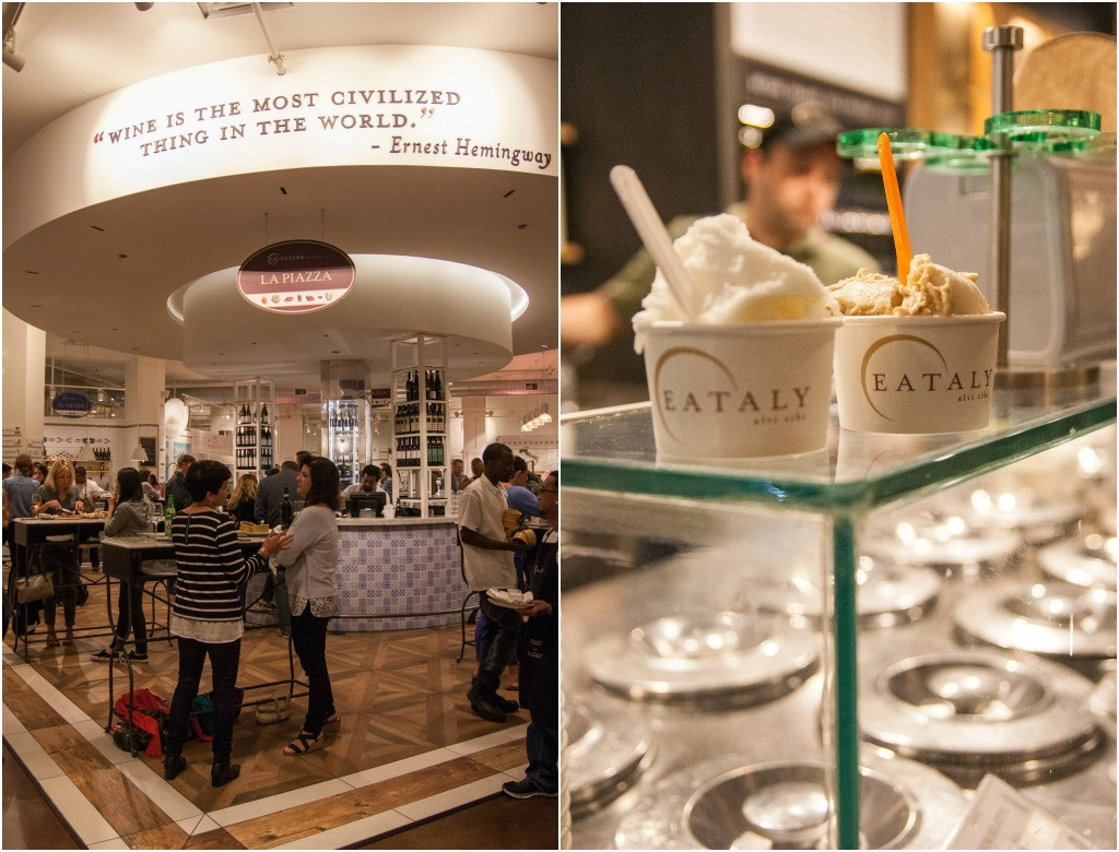 Happy hour at Eataly Chicago