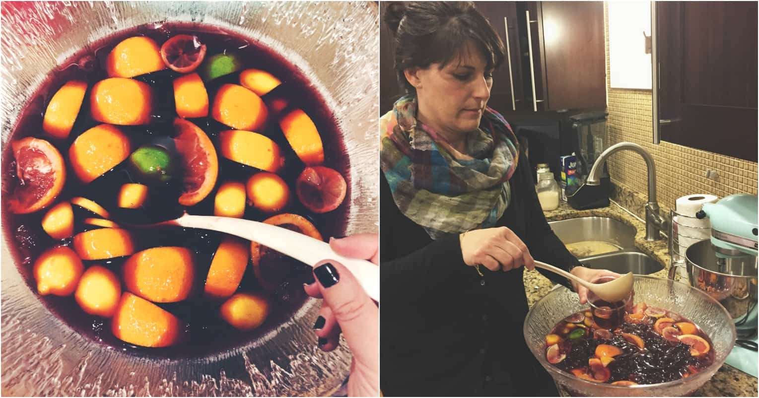 Secret ingredient Sangria