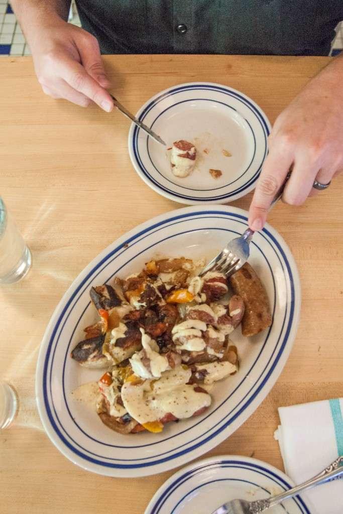 Warm charcuterie plate - Publican Quality Meats