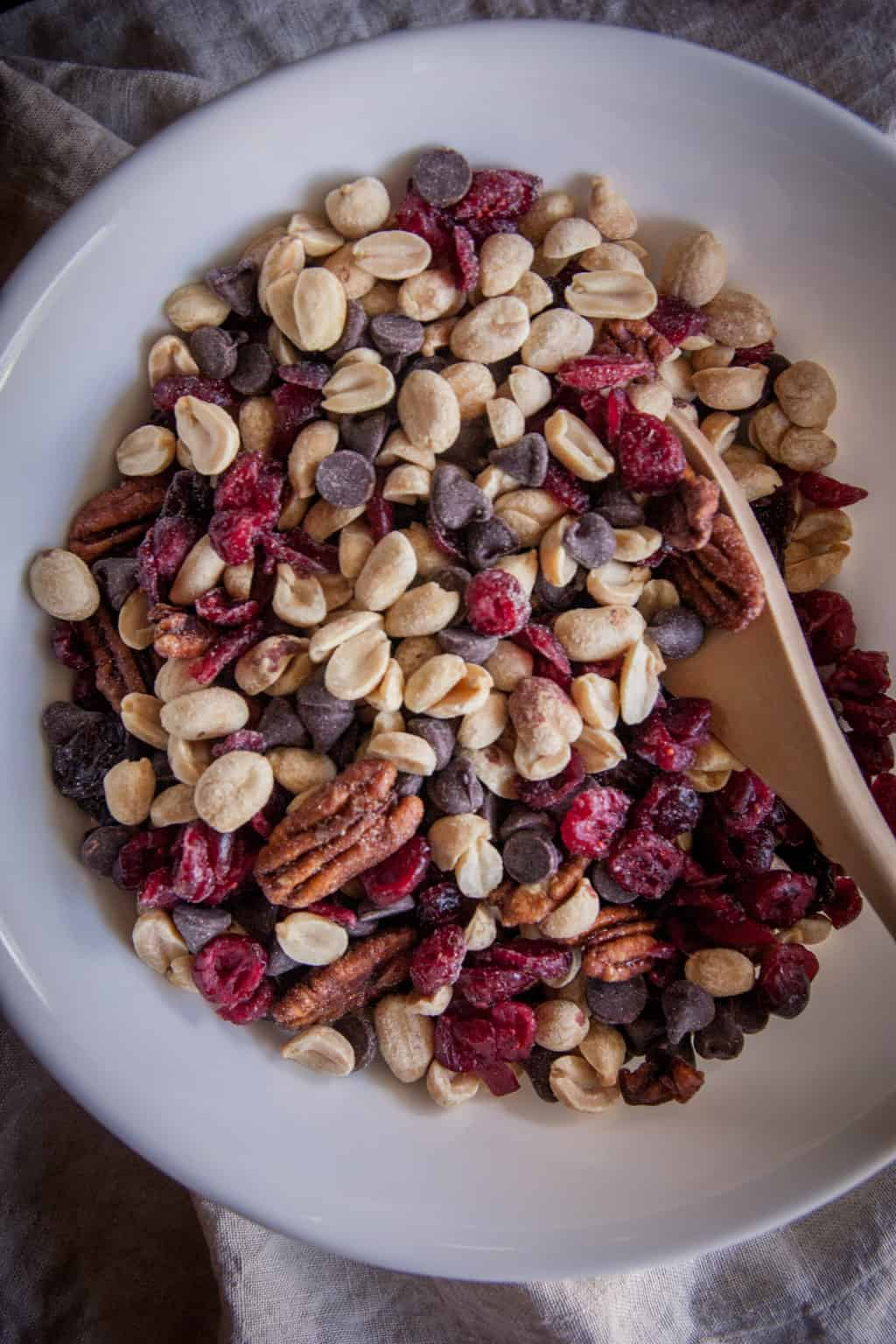 Homemade Wisconsin trail mix @sweetphi