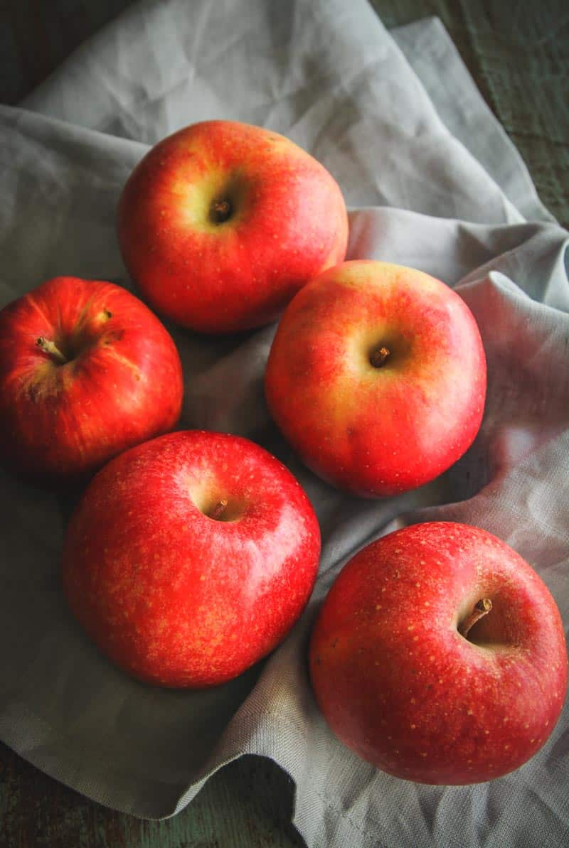 Seasonal apples from Door to Door Organics