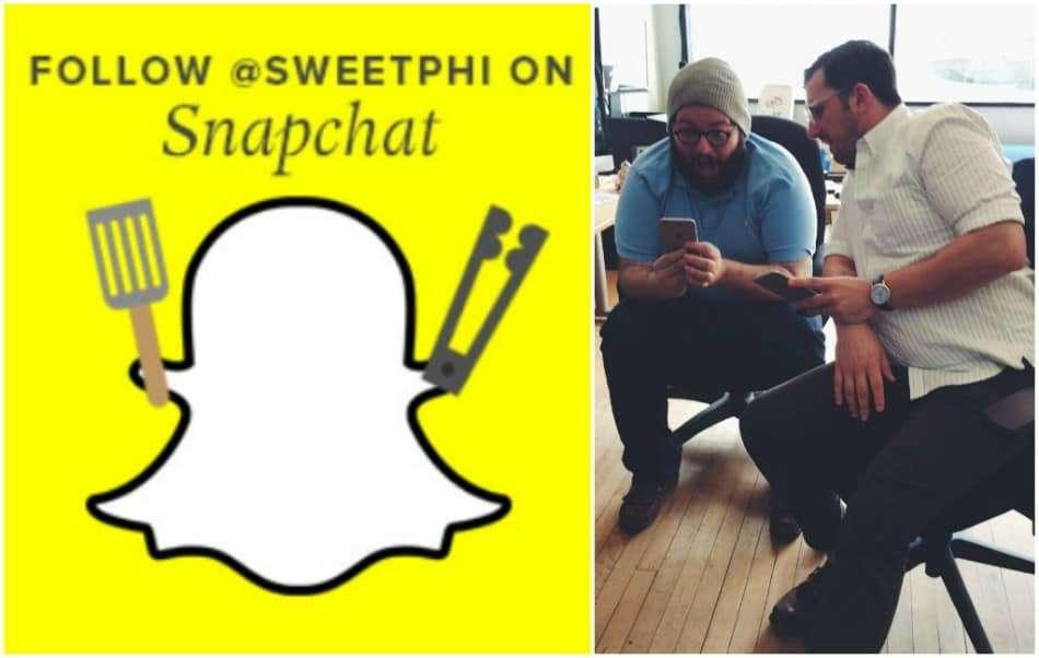 Follow @sweetphi on snapchat