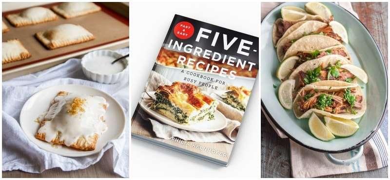 @sweetphi five ingredient recipes cookbook