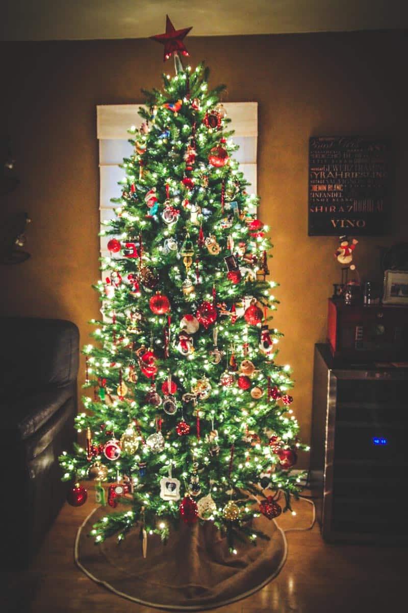 The @sweetphi Christmas tree