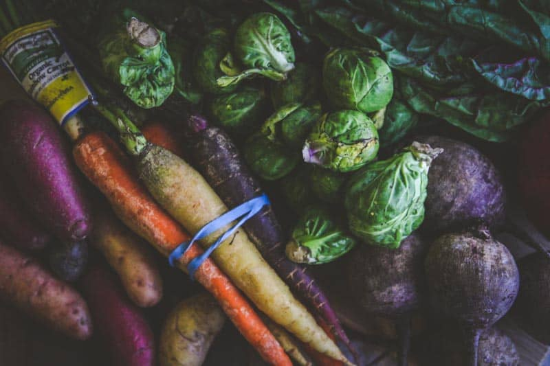 Winter vegetables for roasting from @sweetphi