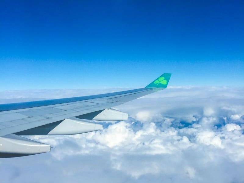 Aer Lingus flying into Dublin - Dublin guide from @sweetphi