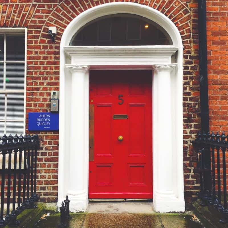 Dublin doors around Merrion Square from @sweetphi