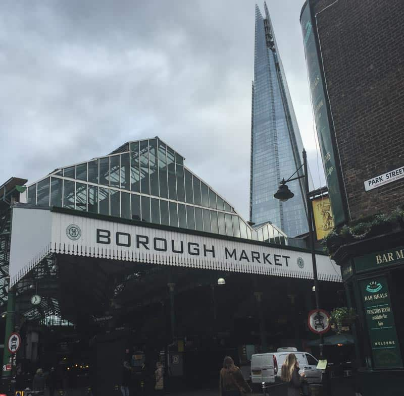 The Borough Market in London, guide by @sweetphi