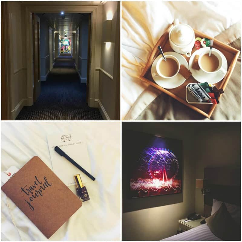 London Bridge Hotel room review from @sweepthi