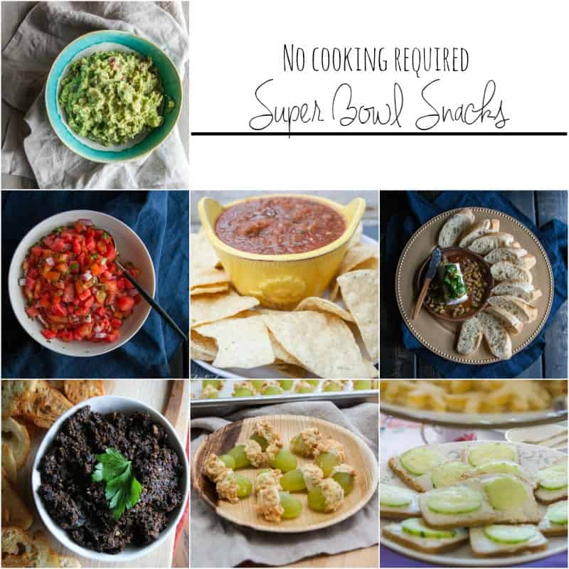 No bake super bowl snacks from @sweetphi
