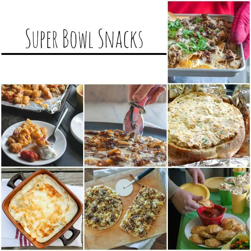 Super Bowl Snack Ideas from @sweetphi
