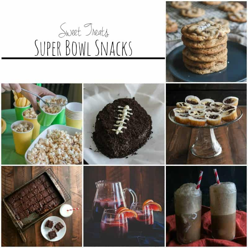 Sweet super bowl snacks from @sweetphi