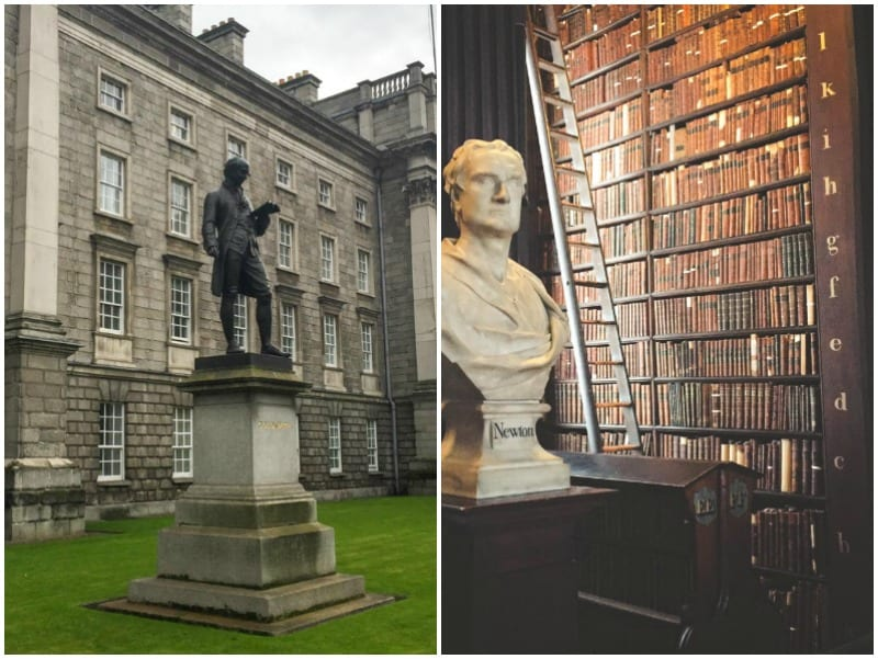 Trinity College & The Large Room Library - Dublin city guide from @sweepthi