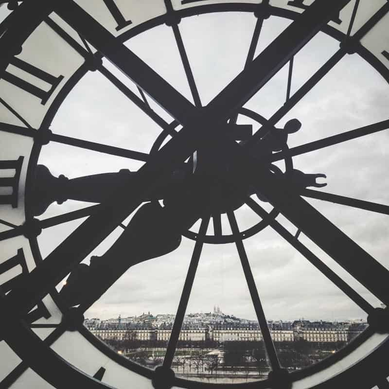 Views of Paris from the d'Orsay