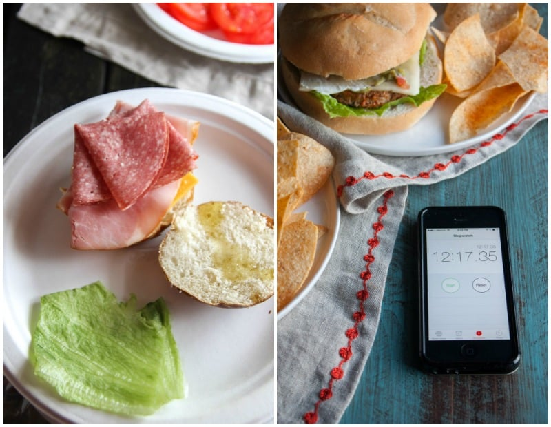 Easy dinner idea-sandwiches and burgers from @sweetphi