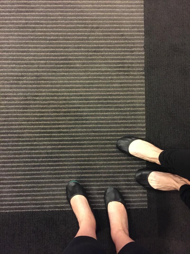 Wearing Tieks to yoga - review from @sweetphi