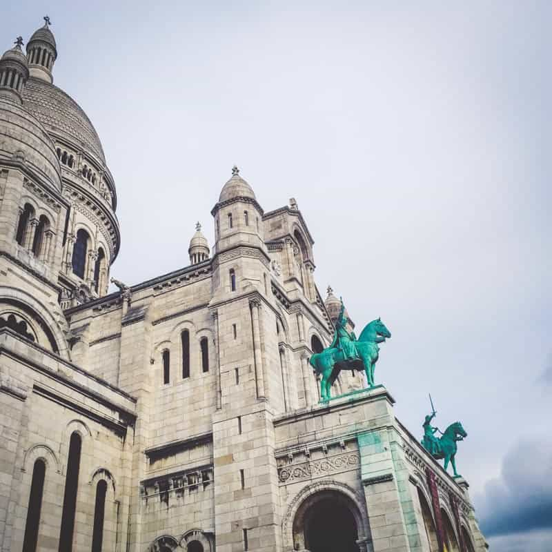 Sacre-Coeur Paris from walking tour with Viator review from @sweetphi