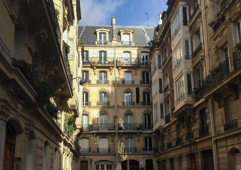 Paris neighborhood photo